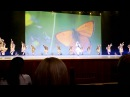 Ансамбль Лезгинка-Аварский девичий танец-Юбилейный концерт 55 лет 07/12/2013