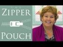 Make a Zipper Pouch with Jenny Doan of Missouri Star Video Tutorial