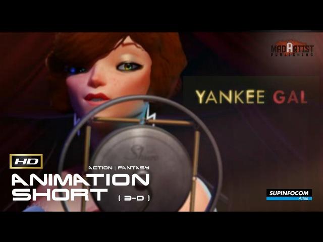 Action CGI 3D Animated Short War Film ** YANKEE GAL ** Thriller Animation Cg movie by SupInfocom