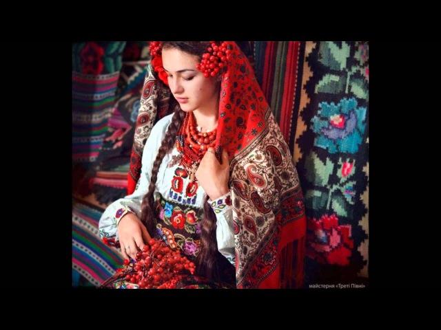 Красиві українки в національних костюмах