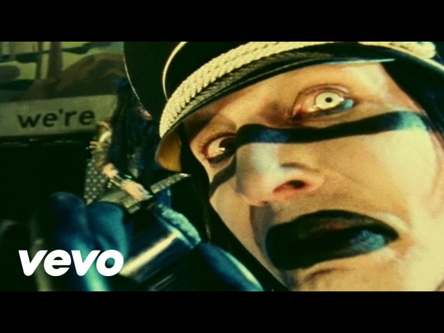 Marilyn Manson The Fight Song Official Music Video
