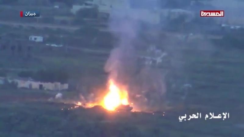 Йемен уничтожение танка М-1Абрамс из ПТРК 9К111-1 «Конкурс»