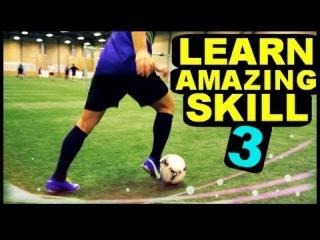 "Football Skill Tutorial #3 ""Turbo Cut"" ★ Ronaldo/Messi/Neymar Skills (How To Do)"