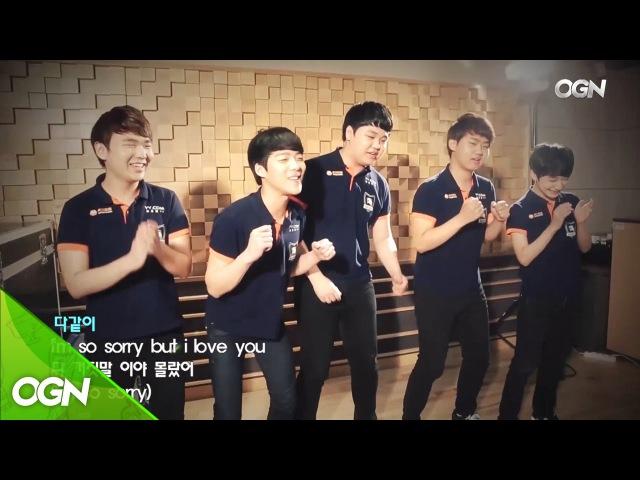 LCK Spring 2016 [롤챔스 결승] ROX Tigers singing contest ep.2 BIGBANG MV / 롯데 꼬깔콘 롤챔스 스프링 2016 160423 EP
