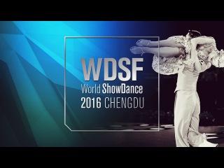 Casula - Marras, ITA | 2016 World Showdance Lat R1 | DanceSport Total
