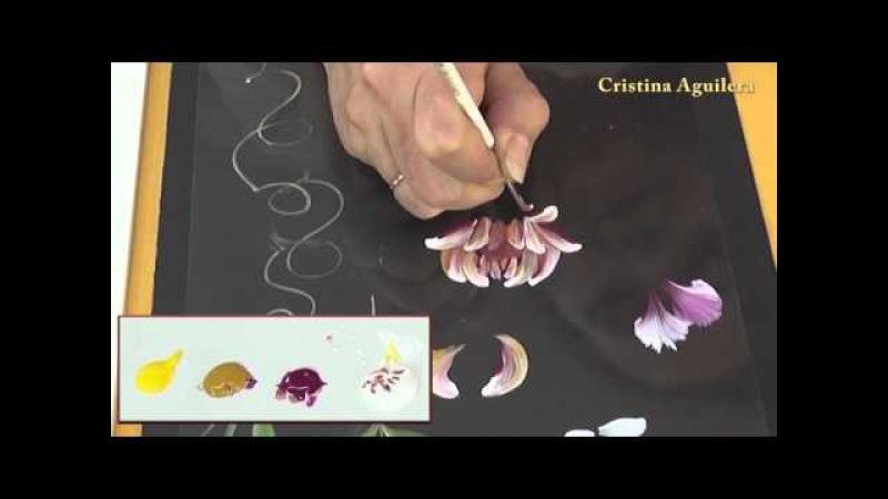 Pincel redondo pintura multicarga one stroke