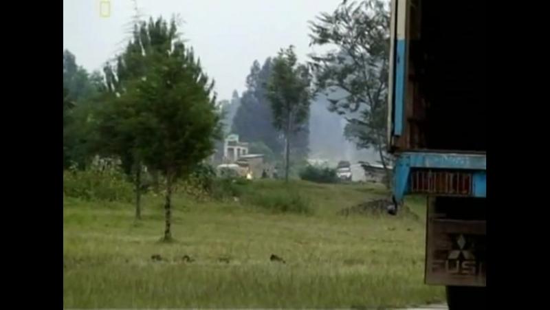 Долгий путь на Юг От Кении до Руанды 7 серия май июль 2007