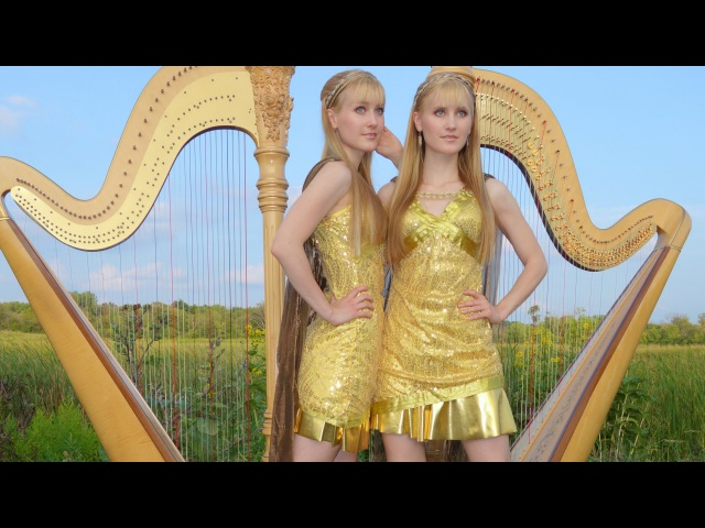 Now We Are Free GLADIATOR Theme Harp Twins Camille and Kennerly