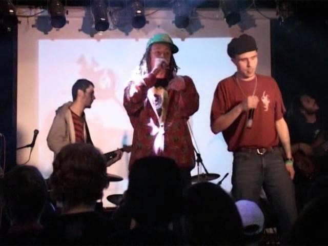 Check JahGun Band live @ Ikra 28 04 2007 Москва