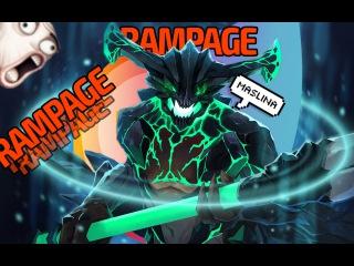 RAMPAGE OUTWORLD DEVOURER - [DOTA 2]