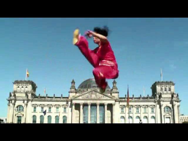 WUSHU TUTORIAL: Lotus Kick 540° by Jade Xu