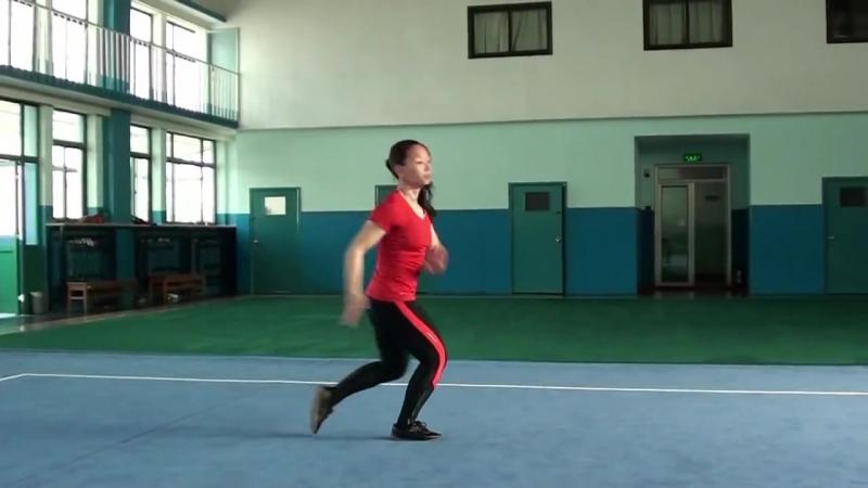 WUSHU TUTORIAL Lotus Kick by Jade Xu