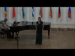 """Гафиятуллина Нэля - Ария Мими из оперы """"Богема"""""""