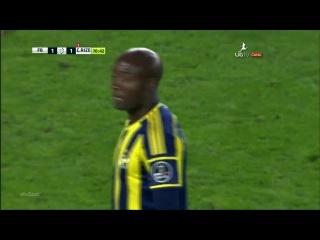 Чeмпиoнaт Турции 2014-15 / Spor toto superlig / 9-й тyp / Фенербахче - Ризеспор/2-й тайм