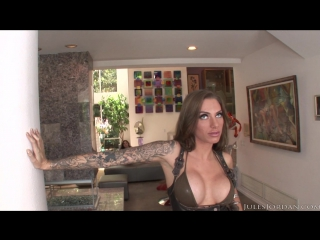Juelz ventura - julesjordan.com - andy san dimas, chastity lynn, juelz ventura, tiffany doll - orgy masters interracial anal and