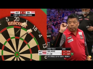 Austria vs Singapore (PDC World Cup of Darts 2016 / Second Round)