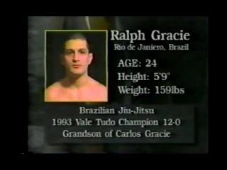 Ralph Gracie vs Makoto Muraoko  EXTREME FIGHTING 1