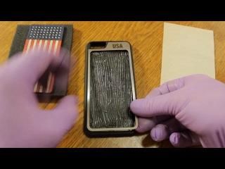 Чехлы на телефоны. DAMICO Phone Cases. (WOOD + STAINLESS STEEL)