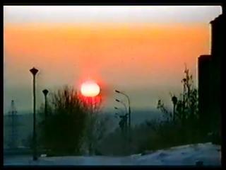 История Обнинска. Зарисовка Зимний Обнинск. 1992 г