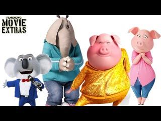 Зверопой (Sing) - Characters Featurette | Buster, Rosita, Gunter and Meena