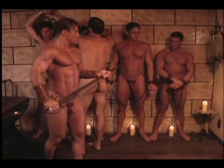 Gachimuchi - sharpshooter - knaked knights - featuring anthony cappriati (playgirl & mens workout model)