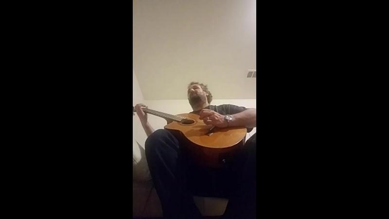 Guitar practice first two verses Nich Yaka Misyachna