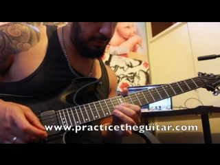 How To Play Fast Arpeggio Variations Sweep Picking-Right Hand Tapping-Shred Guitar