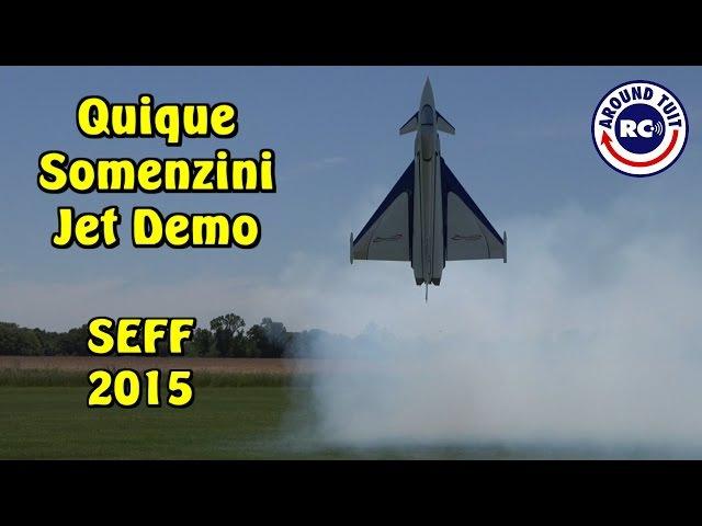 Quique Somenzini Thrust Vectoring Jet Demo SEFF 2015 Around Tuit RC