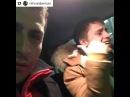 Новый участник телепроекта «Дом 2» Антон Батраков едет в машине и очень неплохо читает рэп