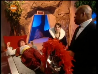Genie in the house - tickle interrogation scene