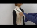 TR Cutting School-Moulage_Draping on Body by Shingo Sato-Corset Jacket- - from YouTube