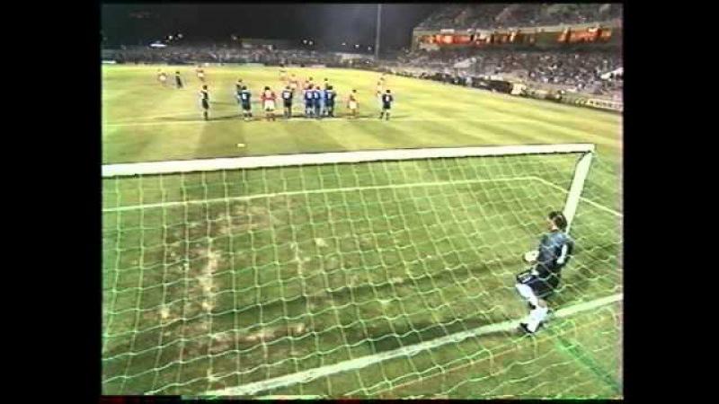 Sc Bastia- Benfica Lisbonne UEFA 97