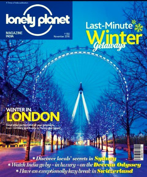 Lonely Planet Magazine India - November 2016
