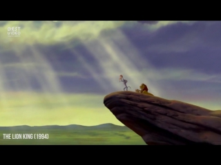 Эволюция стиля мультипликации Disney в одном отличном видео
