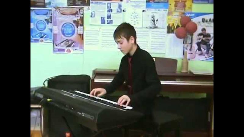 Gallerytalents.ru Международный творческий интернет-конкурс - Седухин Данила (13 лет), Россия