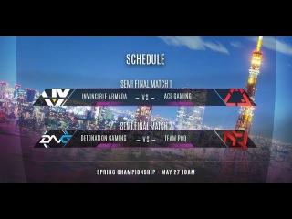 Vainglory 8 Tokyo: Detonation Gaming VS Team pQq И1