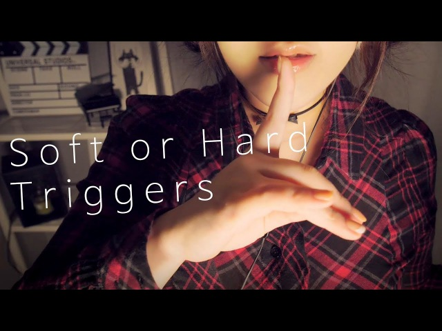 ASMR 7 Triggers Tapping Touching for You to Fall Asleep