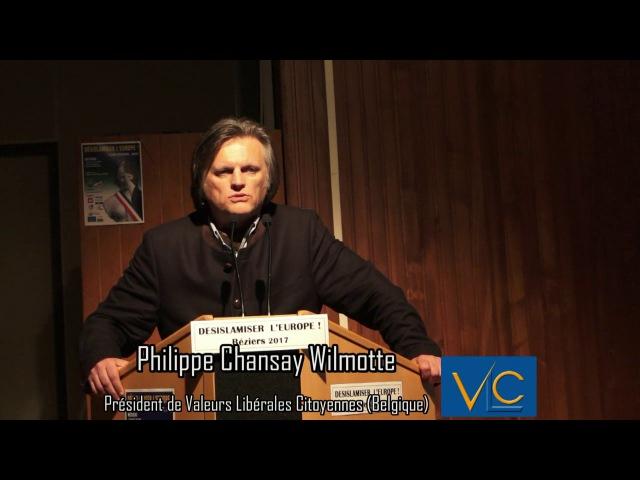 Repenser le droit pour Désislamiser l'Europe Philippe Chansay Wilmotte