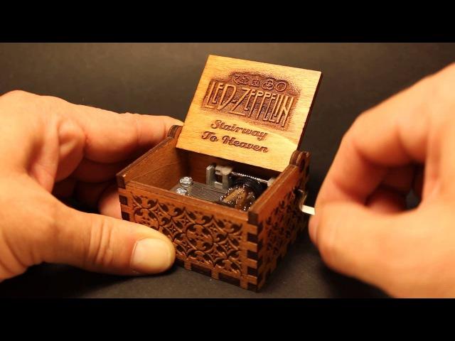 Stairway To Heaven Music Box (Invenio Crafts)