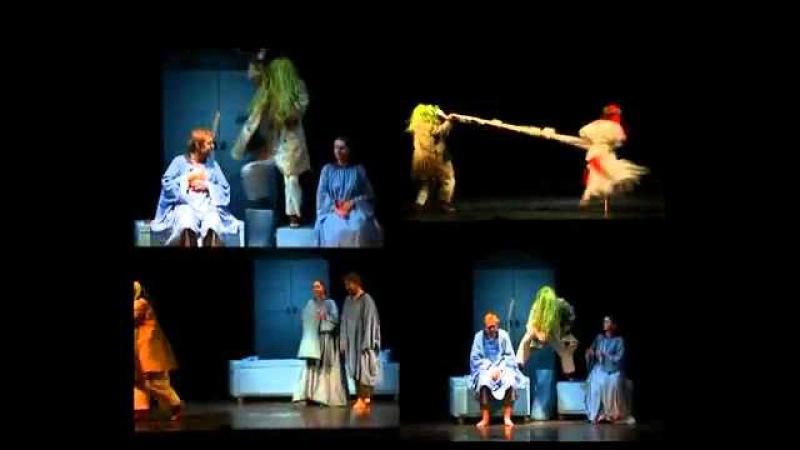 Spektaklis suaugusiems Eglė žalčių karalienė Vilniaus teatras Lėlė