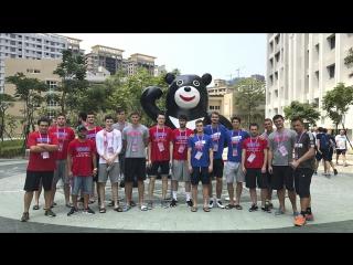 Мужская студенческая сборная приехала в Тайбэй!