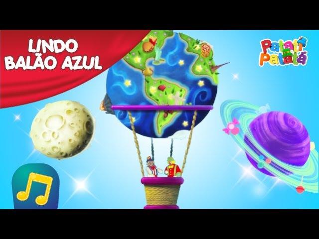 Patati Patatá Lindo Balão Azul DVD Coletânea de Sucessos
