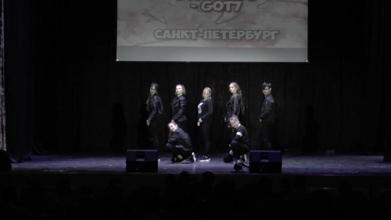 180415 GOT7 Hard Carry cover dance by DARK SIDE AnimeDay