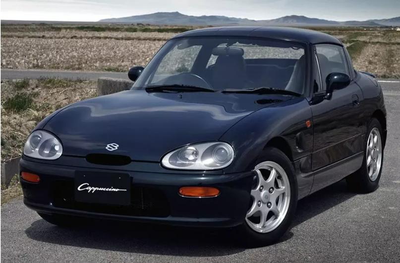 700 килограммов ярости редкого спорткара Autozam AZ-1, который и Suzuki, и Mazda., изображение №4