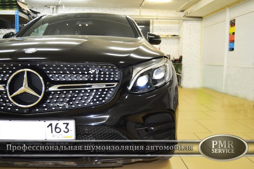 Шумоизоляция Mercedes Benz GLC, изображение №2