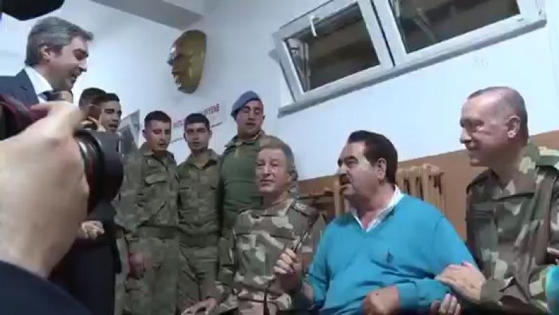 Necati Şaşmaz Zeytin Dalı Harekatı'na destek için Hatay' da