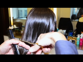 Extreme hair makeover long to short by jerome lordet nyc howto