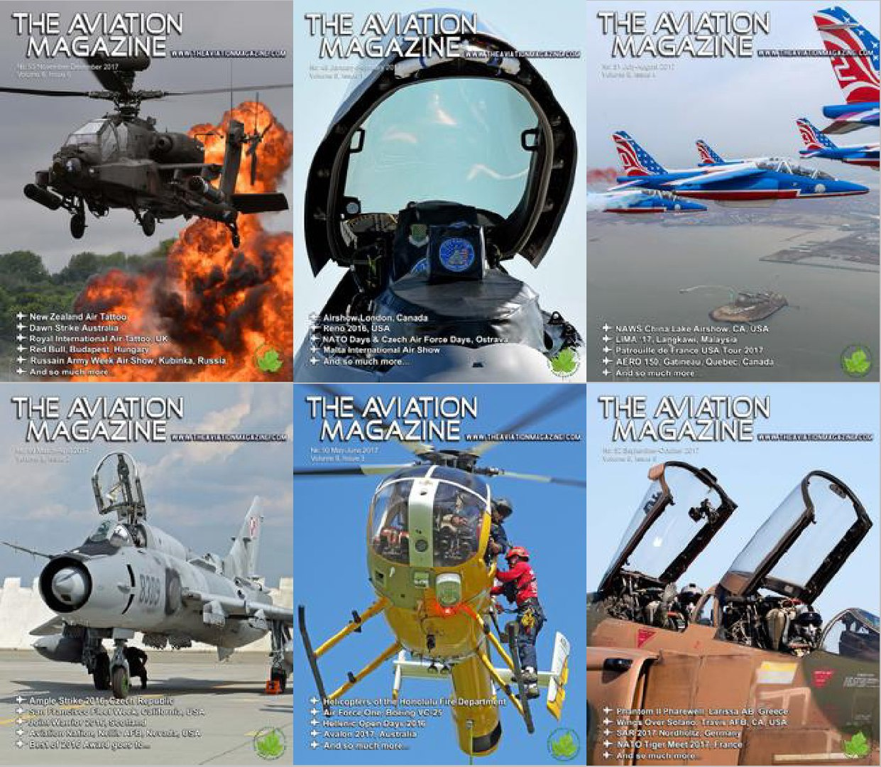 The Aviation Magazine - 2017 Full Year Issues Collection