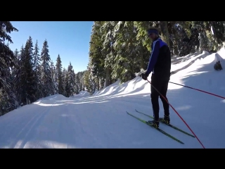 GoPro- XC Skiing Downhill Session