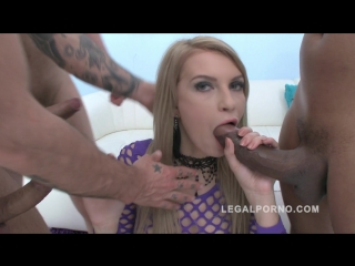 Karina grand - dap'ed (hot slut fucked by 3 guys & takes 2 cocks in the ass) [2015, gonzo, ir, gangbang, anal, 720p]